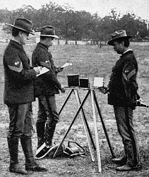US Army heliograph in 1898