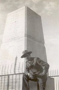 Robert M. Utley at Custer Battlefield in 1949